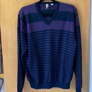Other - 89 Cullen Men's Merino Wool VNeck Sweater XL